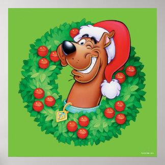 Poster Scooby en guirlande