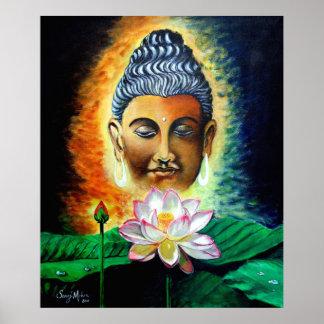 Poster seigneur Bouddha