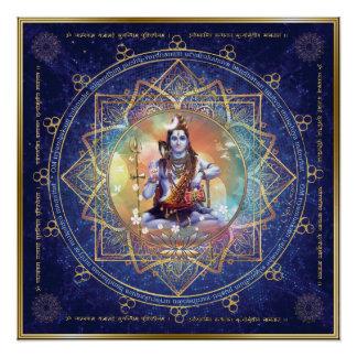 Poster Shiva Mahamrityunjaya - épuration de karma