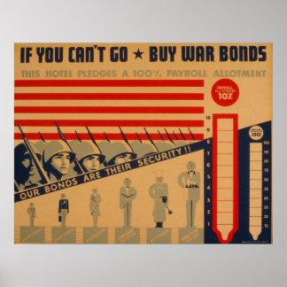 Poster Si vous biseautés allez les affiches 1942 de WPA