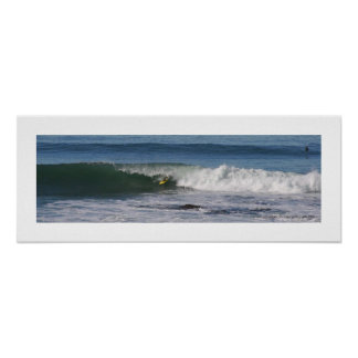 Poster Simmons. Surfer. La Jolla