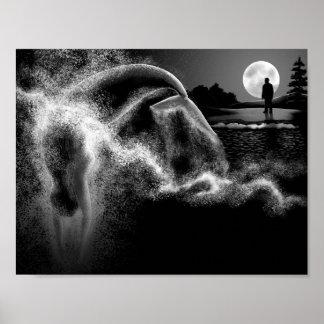 Poster Sirène la nuit