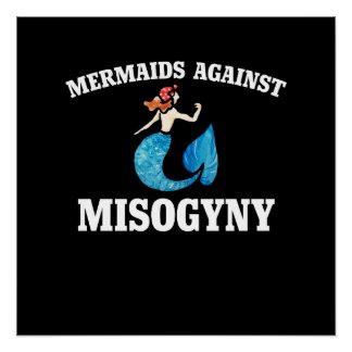 Poster Sirènes contre la mysogynie
