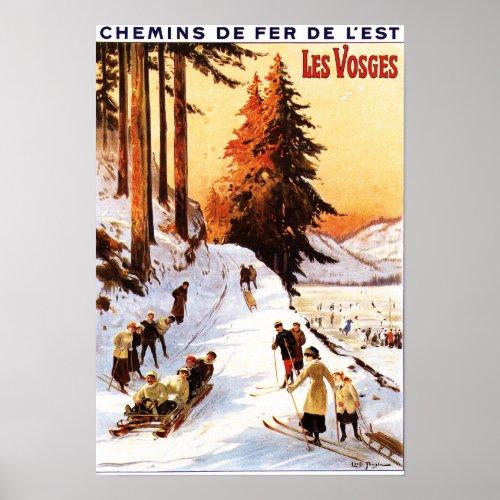 Affiche de voyage - Les Vosges