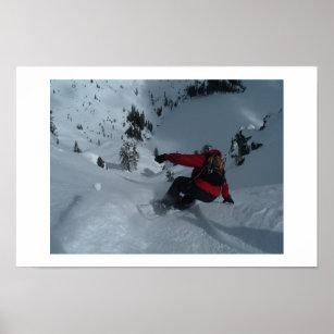 Poster Snowboarding de Backcountry