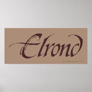 Poster Solide nommé d'ELROND™