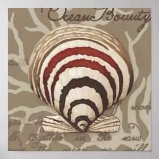 Poster Sonnet II de bord de la mer