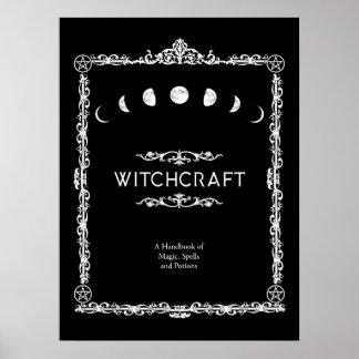Poster Sorcellerie un manuel des charmes magiques et des