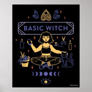 Poster Sorcières de base - mastication de Camille