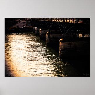 Poster Sous les ponts de Paris
