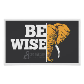 Poster Soyez affiche de Wise_Elephant