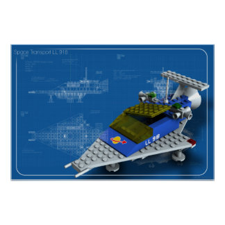 Poster Space Transport LL 918