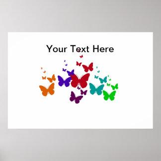Poster Spectre de papillon