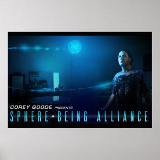 Poster Sphère étant affiche d'Alliance