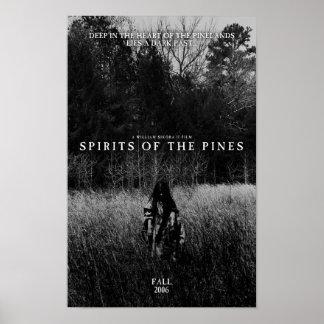 Poster Spiritueux des pins
