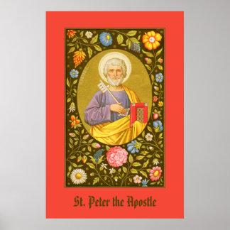 Poster St Peter l'affiche #1 de l'apôtre (P.M. 07)