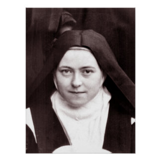 POSTER ST THERESE DE LISIEUX