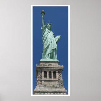 Poster Statue de la liberté/de haute résolution