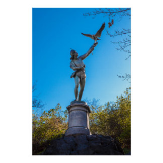 Poster Stature NYC de Central Park