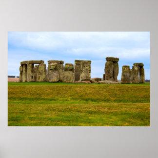 Poster Stonehenge pittoresque, Angleterre