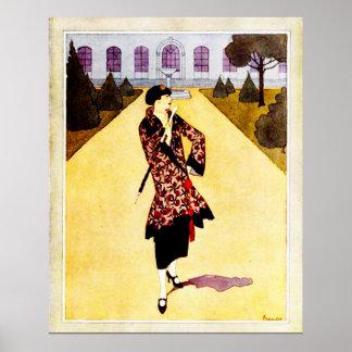 Poster Succèss d'à de robe longue de La