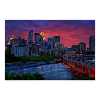 Poster Sucrerie d'oeil de Minneapolis