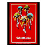 """Poster """"Sueur de sang et vitesses et le Tour de France """""""