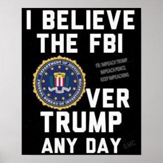 Poster Support avec l'affiche de FBI