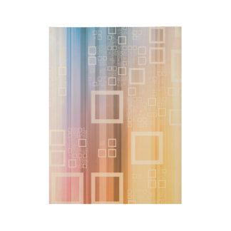 Poster Sur Bois Concept du trafic de train de données de données