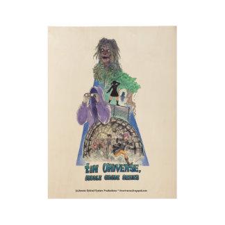 Poster Sur Bois Étamez l'affiche du degré moyen 19 x 14,5 de série