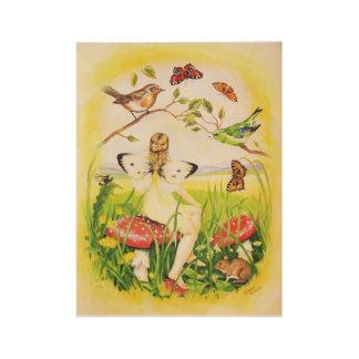 Poster Sur Bois Fée d'Ariadne