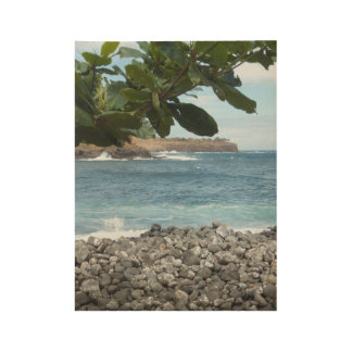Poster Sur Bois Paradis hawaïen