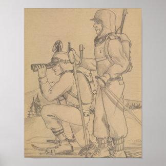 Poster Sur la patrouille