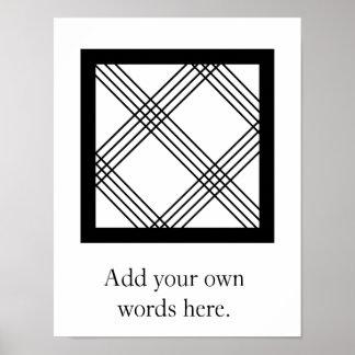 Poster Symbole de NKYIMU | de Skillfulness, précision