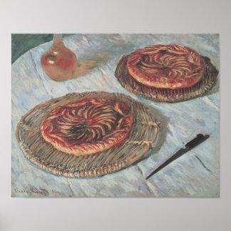 Poster Tartes de fruit de Claude Monet |, 1882