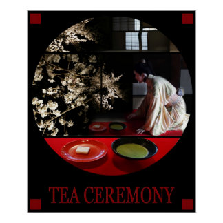 POSTER TEA CEREMONY