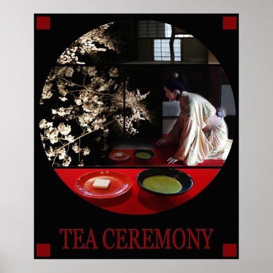 POSTER TEA CEREMONY