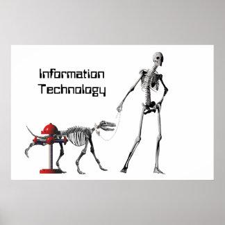 Poster Technologie de l'information