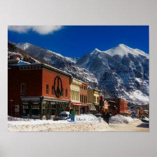 Poster Tellurure, photographie de paysage du Colorado