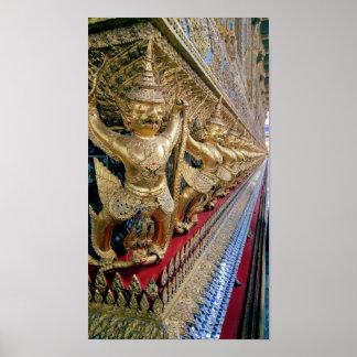 Poster Temple thaïlandais