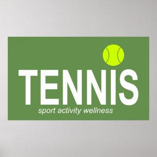 Poster Tennis