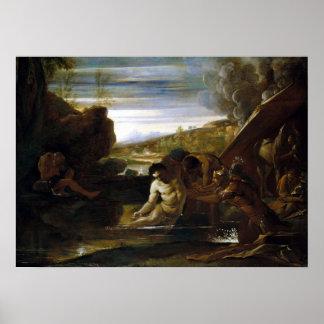 Poster Testa Alexandre de Pietro le grand secouru