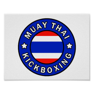 Poster Thaïlandais de Muay