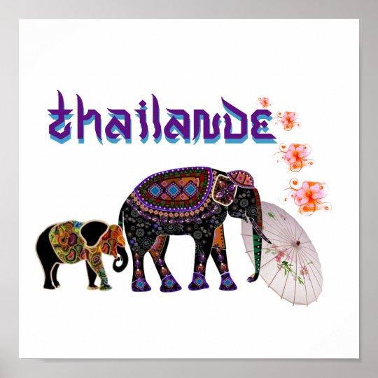 Poster Thailande