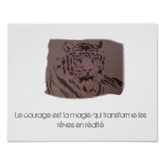 Poster Tigre & Citation
