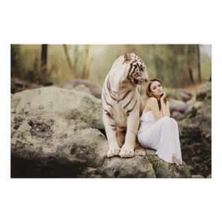 Poster Tigre et Madame de Bengale