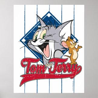 Poster Tom et Jerry   Tom et Jerry sur le diamant de