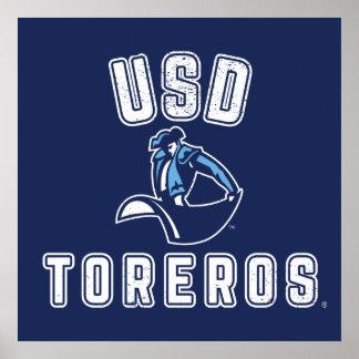 Poster Toreros vintages d'USD
