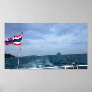 Poster Tour de bateau en Thaïlande