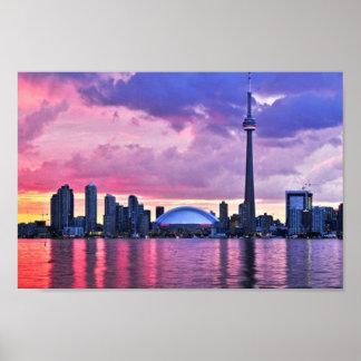 Poster Tour de NC : Vue d'île centrale Toronto